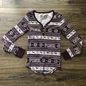VS PINK Sleep Shirt Top